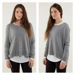 LULULEMON Pure Balance Hi Lo Sweater